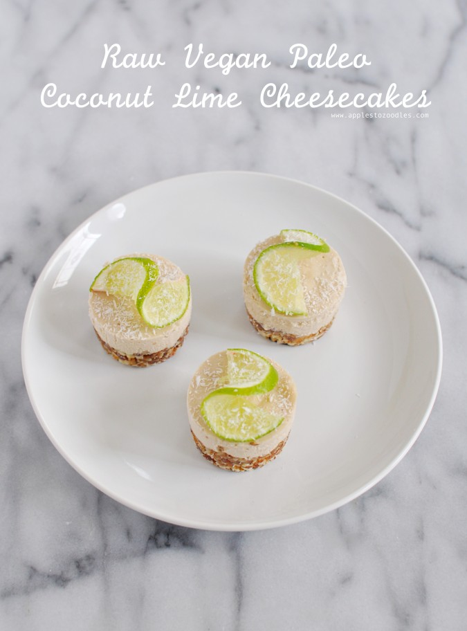 Coconut Lime Cheesecake updated