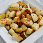 Roasted White Sweet Potatoes