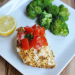 Spicy Cumin Baked Halibut