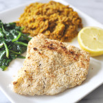 Paleo, Gluten Free Crusted Fish (or Fish Sticks)