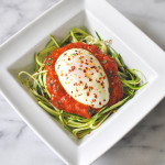 Poached Egg Zoodles